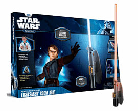 Star Wars Science Lightsaber Room Light Toys and Gadgets