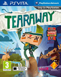 Tearaway PS Vita Cover Art