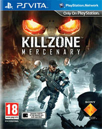 Killzone: Mercenary PS Vita Cover Art