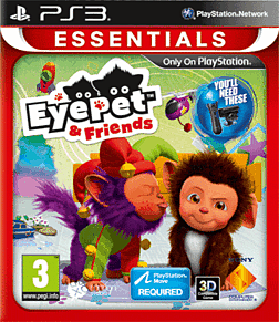 EyePet & Friends (PS3 Essentials) PlayStation 3 Cover Art