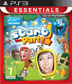 Start the Party! (PS3 Essentials) PlayStation 3 Cover Art