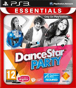 DanceStar Party (PS3 Essentials) PlayStation 3 Cover Art