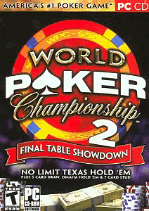 World Poker Championship 2: Final Table Showdown PC Games Cover Art