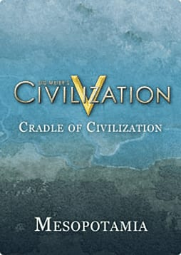 Sid Meier's Civilization V: Cradle of Civilization – Mesopotamia (Mac) Mac Cover Art