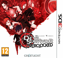 Shin Megami Tensei: Devil Survivor Overclocked 3DS Cover Art