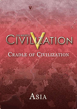 Sid Meiers Civilization V: Cradle of Civilization  Asia (Mac) Mac Cover Art
