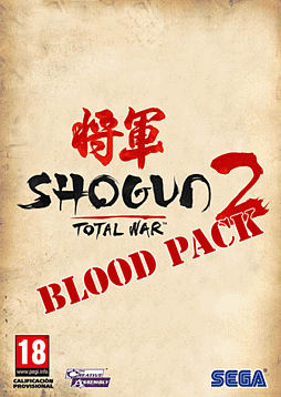 Total War: Shogun 2 - Blood Pack PC Games Cover Art