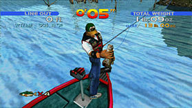 SEGA Bass Fishing screen shot 2