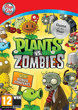 Plants vs. Zombies - Game of the Year Edition PC Games Cover Art