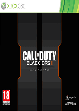 Call of Duty: Black Ops II Exclusive Care Package Xbox 360 Cover Art