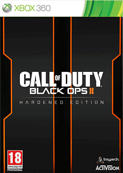 Call of Duty: Black Ops II Hardened Edition Xbox 360 Cover Art