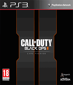 Call of Duty: Black Ops II Exclusive Care Package PlayStation 3 Cover Art
