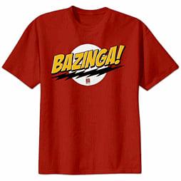 The Big Bang Theory - Bazinga T-shirt (Small) Clothing