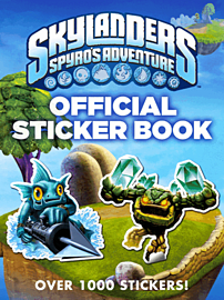 Skylanders Official Sticker Book Strategy Guides and Books
