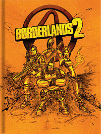 Borderlands 2 Limited Edition Strategy Guide Strategy Guides and Books 