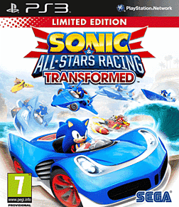 Sonic & All-Stars Racing Transformed - Limited Edition PlayStation 3 Cover Art