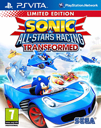 Sonic & All-Stars Racing Transformed - Limited Edition PS Vita Cover Art