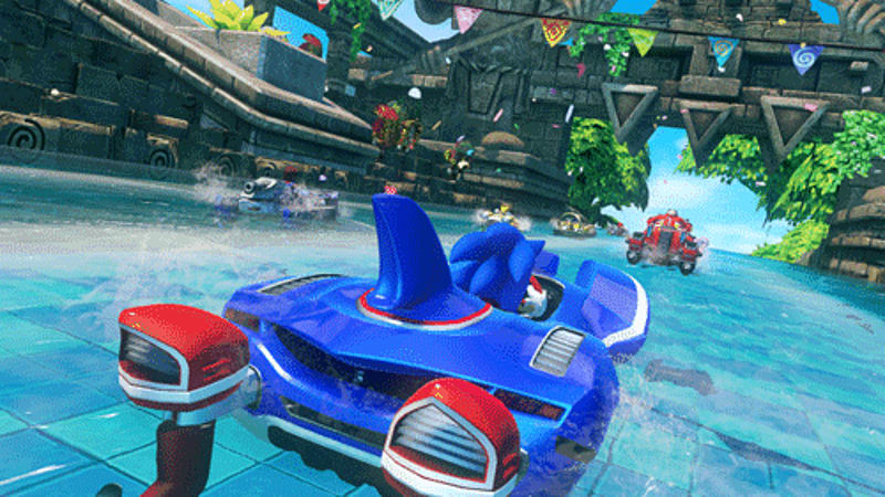 Sonic & All-Stars Racing Transformed on Xbox 360, PS3, Wii U, 3DS, PS Vita, and PC at GAME
