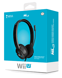 Turtle Beach Ear Force NLA Headset for Wii U - Black Accessories