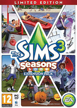 The Sims 3: Seasons - Limited Edition PC Games Cover Art