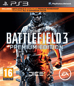 Battlefield 3 with Battlefield 3 Premium PlayStation 3 Cover Art