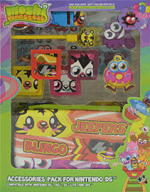 Moshi Monsters Moshling 10 in 1 Accessory Pack for Nintendo DS, DS Lite, DSi and 3DS Accessories