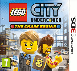 LEGO City Undercover: The Chase Begins 3DS Cover Art