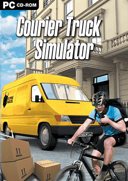 Courier Truck Simulator PC Games Cover Art