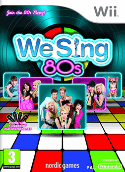 We Sing 80's Wii Cover Art