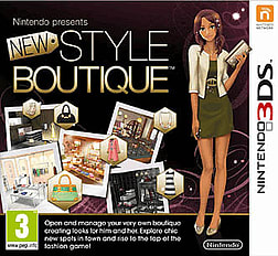 Style Boutique 3DS Cover Art