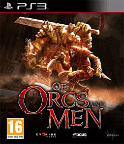 Of Orcs and Men PlayStation 3 Cover Art
