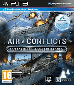 Air Conflicts: Pacific Carrier PlayStation 3 Cover Art