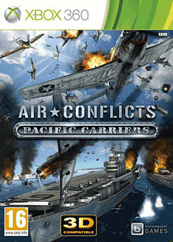 Air Conflicts: Pacific Carriers Xbox 360 Cover Art