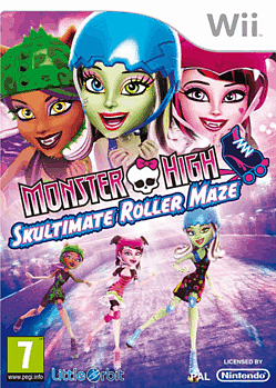Monster High: Skultimate Roller Maze Wii