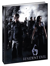 Resident Evil 6 Limited Edition Strategy Guide Strategy Guides and Books 
