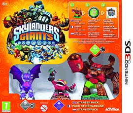 Skylanders Giants Starter Pack Nintendo 3DS Cover Art