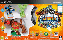 Skylanders Giants Starter Pack - Exclusive Glow in the Dark Edition PlayStation-3 Cover Art