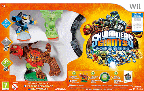 Skylanders Giants on Wii, PlayStation 3, Xbox 360 and 3DS at GAME