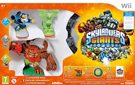 Skylanders Giants Starter Pack - Exclusive Glow in the Dark Edition Nintendo-Wii Cover Art