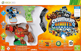 Skylanders Giants Starter Pack - Glow in the Dark Edition Xbox-360 Cover Art