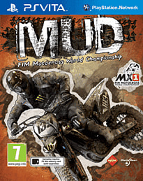 MUD FIM Motocross World Championship PS Vita Cover Art