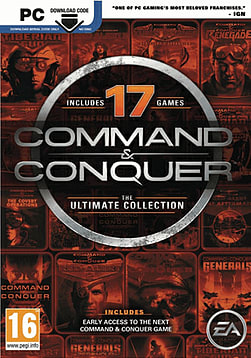 Command and Conquer Ultimate Collection PC Games Cover Art