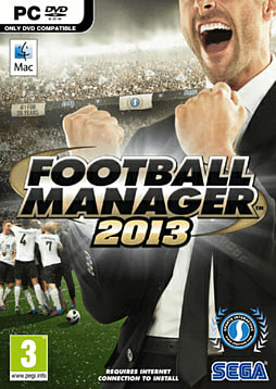Football Manager 2013 PC Games Cover Art
