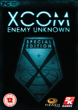 XCOM: Enemy Unknown GAME Exclusive Special Edition PC Games Cover Art