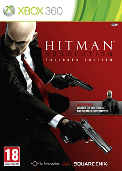 Hitman Absolution Exclusive Tailored Edition Xbox 360 Cover Art