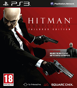 Hitman Absolution Exclusive Tailored Edition PlayStation 3 Cover Art