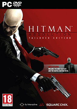 Hitman Absolution Tailored Edition- Only at GAME PC Games Cover Art