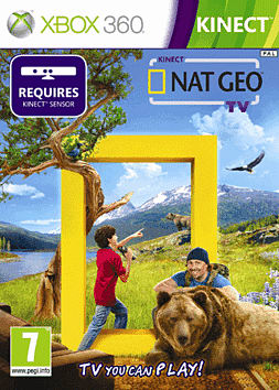Kinect Nat Geo TV Xbox 360 Kinect Cover Art