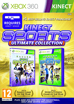 Kinect Sports Ultimate Collection Xbox 360 Kinect Cover Art