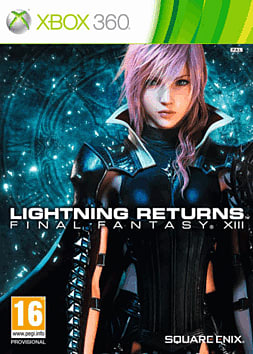 Lightning Returns: Final Fantasy XIII Xbox 360 Cover Art